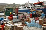 Brava : Furnas : harbour : People Work