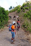 Santiago : Achada Lagoa : Hiking trail : People Recreation