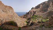 Brava : Feija de Agua Lagoa : hiking trail : Landscape Mountain