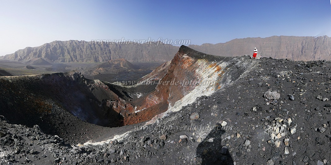 Fogo : Pico Pequeno : am Krater 2014 : Landscape Mountain